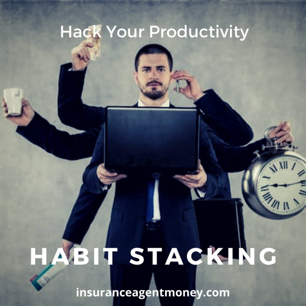 habit stacking for sales